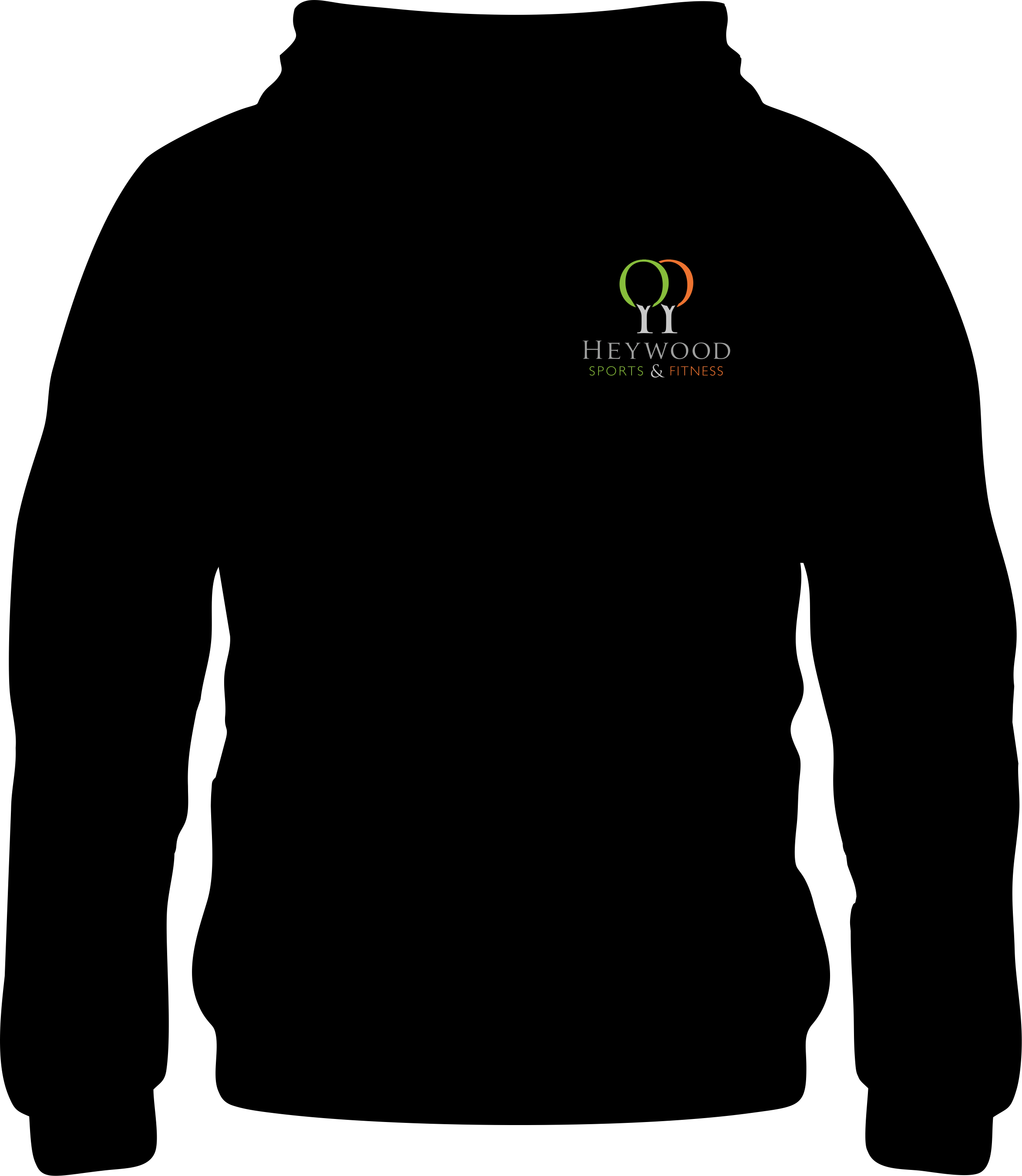 Heywood Sports and Fitness Club Junior Pullover Hoodie