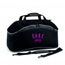 Official Cake Gang Teamwear Holdall in Black / Graphite Grey