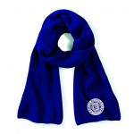 Ipswich Bicycle Club Knitted Scarf