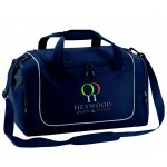 Heywood Sports and Fitness Club  French Navy Holdall