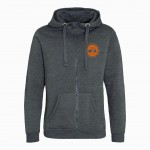 Twisted Oaks Unisex / Men's Heavyweight Zip Up Hoodie