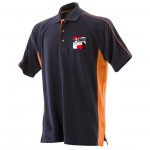 IP-Cross Unisex Adults Contrast Polo Shirt