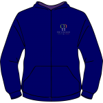 Heywood Sports and Fitness Club Adult Zip Up Hoodie
