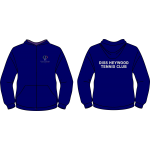 Heywood Sports and Fitness Club  - Diss Heywood Tennis Club Junior Zip Up Hoodie
