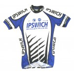 Ipswich Bicycle Club Bespoke Ladies Short Sleeve Jersey with Full Zip - Small