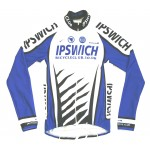 Ipswich Bicycle Club Bespoke Men's Long Sleeve Roubaix Jersey with Full Zip - XLarge
