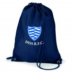 Diss RFC French Navy Drawstring Gymsac