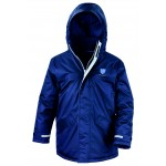 Diss RFC Adult Navy Blue Waterproof Parka Coat
