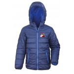 IP-Cross Unisex Padded Jacket with Hood