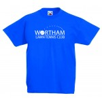Wortham Tennis Club Junior Cotton Crew Neck T-Shirt
