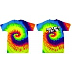 Suffolk Static Adult Tie-Dye Crew Neck T-Shirt